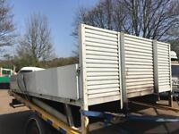 Iveco Daily 2010 alloy drop side body 13 ft £450
