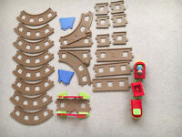Happyland Train Track (with extension set)