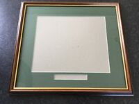Picture Frame with Glass infill panel