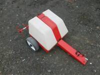 Ride on lawn mower lawn groomer in very good condition