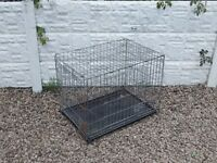 Dog cage / folding metal dog cage / pet cage / dog crate / animal cage /