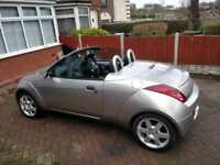 Ford Streetka Luxury convertible 1.6 heated leather 70,000 miles