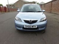 2006 MAZDA 2 AUTOMATIC PETROL,SERVICE HISTORY,2 KEYS,2 OWNER,LOW MILEAGE,HPI CLEAR,WARRANTY MILEAGE