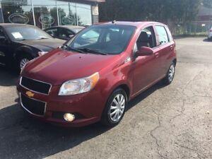 2010 Chevrolet Aveo 5 LT   GARANTIE GRATUITE 30$/sem* 0$ Dépôt