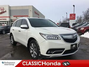 2016 Acura MDX ELITE | NAV | DVD | LEATHER | CLEAN CARPROOF | SU