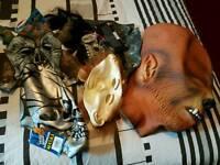 Halloween Masks car boot sale