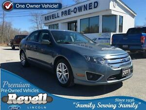 2011 Ford Fusion SEL...1-owner trade, 2.5L, 6-speed automatic, A