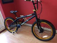 Custom built voodoo bmx bike