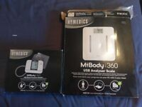 MiBody scales and blood pressure monitor