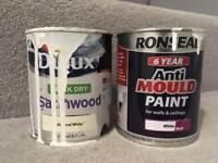 Free Paint ronseal anti mould and dulux