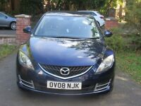 Mazda 6, 2.0L TS petrol, very good condition, MOT due May 2017, full service history, excellent car