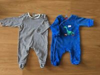 Sleep suits, Size: Newborn, John Lewis