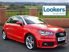 Audi A1 TFSI S LINE (red) 2010-11-30