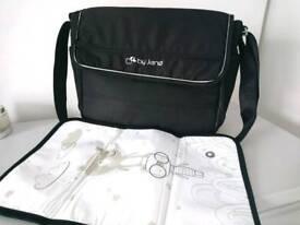 Jane pram bag and change mat