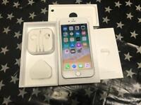 iPhone 6s 64gb Silver colour Unlocked mint condition