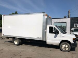 2017 Ford E-450 16 ft cube van with ramp. fin or lease
