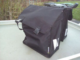 Double Pannier bags Complete with rack.