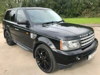 Great Value 2007 Range Rover Sport 3.6 HSE Auto Upgraded Black Alloys Full Service History April MOT