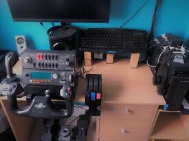 Pc Desktop full set up Flight Simulator for sale
