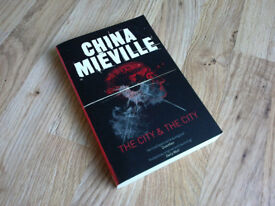 """The City & The City"" by China Miéville, paperback – read once"