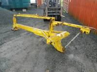 Tractor three point linkage kilworth post stob chapper knocker