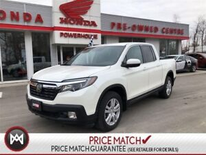 2017 Honda Ridgeline LIKE NEW!! LOTS OF REMAINING FACTORY WARRAN