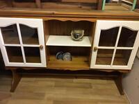 Wooden top dresser REDUCED