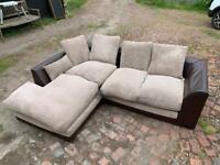 Large corner sofa, NEEDS TO GO TODAY