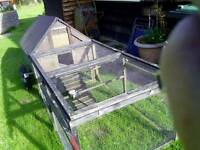 Mobile chicken coop