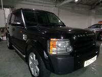 LAND ROVER DISCOVERY TDV6 GS BLACK 2.7 DIESEL ESTATE 2007