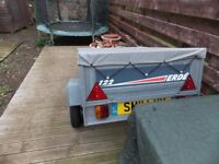 erde 122 trailer in great condition