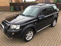 LANDROVER FREELANDER BLACK AUTOMATIC LEATHER 2.0 DIESEL SUNROOF 2005 BLUETOOTH ONLY 115K MILES