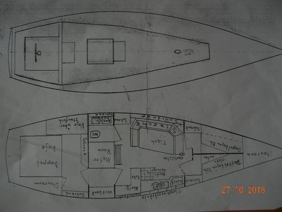 Alu Aluminium Segelyacht Segelboot Rundspant 13,79 m x 3,85 m in Bremen (Stadt) - Findorff