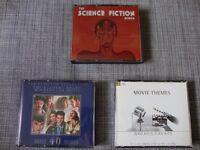 Film Soundtracks. The Science Fiction album, Movie Themes golden greats, Academy award winners.