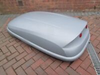 Roof Box car van camper trailer car booters extra space for holidays traveling approx 420 ltr