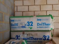 Dritherm 32 Ultimate 125mm cavity fill for sale.