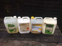 Car cleaning, valeting chemicals, Duck oil, service spray, silicone, degreaser