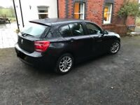 BMW BMW 1 Series, 116D , BLACK, 2011 (61 reg) 2litre ,5 door hatchback , Manual, 55mpg,