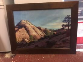 Large wooden picture frames 19 x 27