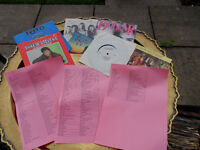 45s from the 1960s-1980s