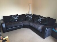 Large Corner Sofa/Large Cuddle Swivel Chair/Armchair for sale (pickup only)
