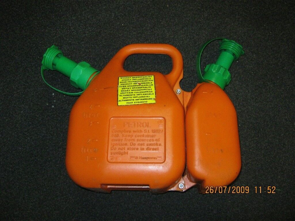 Husqvarna Combi Can Fuel Amp Oil With Anti Spill Spout