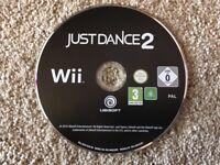 Nintendo Wii Just Dance 2