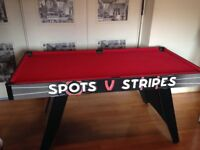 POOL TABLE, BALLS AND CUES £20 ono