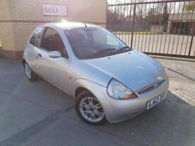 2003/52 REG FORD KA 1.3 ** FULL LEATHER + AIRCON £649
