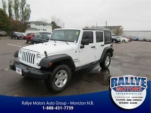2014 Jeep Wrangler Unlimited Sport! 4x4! Hitch! Alloy! ONLY 43K!