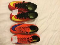 Football boots size 13-2 (5 pairs)