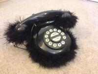 Furry Landline Telephone