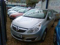 Vauxhall cora van diesel 2008