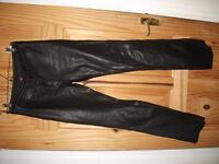 Hein Gericke Ladies Leather Trousers Size 38 - Brand New